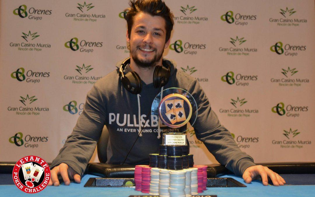 Anastasi vencedor de la tercera edición del Levante Poker Challenge del Gran Casino Murcia