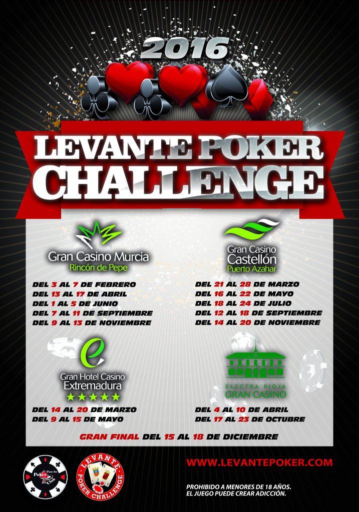cartel levante poker general 2016