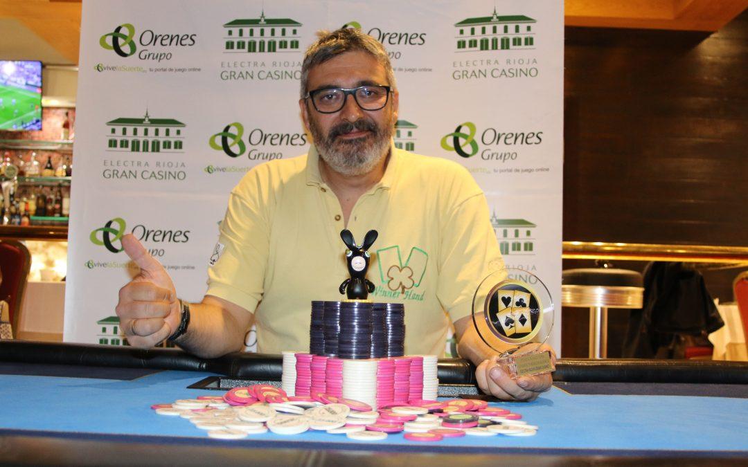 Jesús Sánchez se lleva el trofeo de Electra Rioja Gran Casino del Levante Poker Challenge