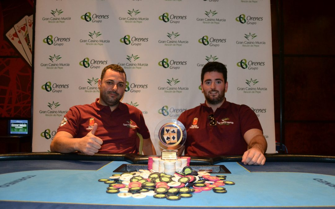 Pacto para la última etapa del Levante Poker Challenge en Gran Casino Murcia