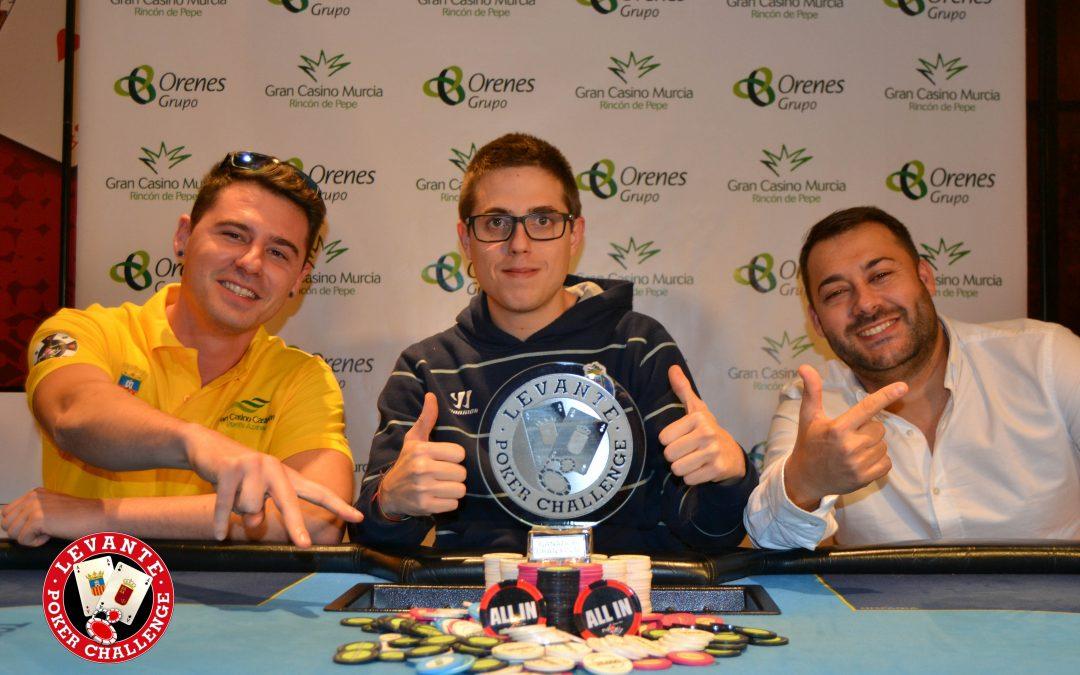 La Gran Final del Levante Poker Challenge en Gran Casino Murcia acaba en pacto con cerca de 80.000€ en premios