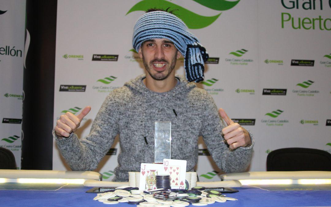 Tío Sala se lleva el primer Levante Poker Challenge del nuevo año en el Gran Casino Castellón
