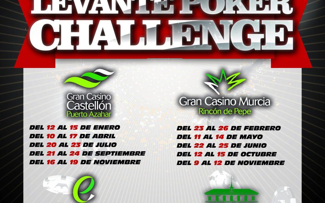 Calendario del Levante Poker Challenge 2017