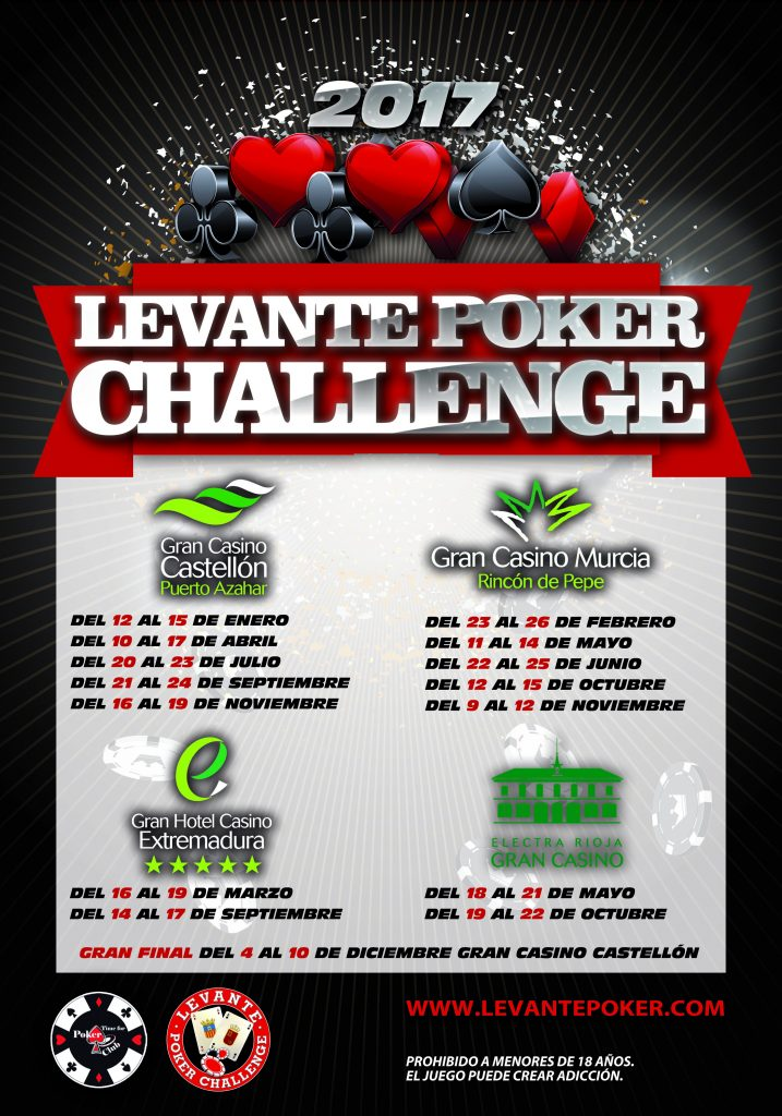 cartel levante poker general 2017