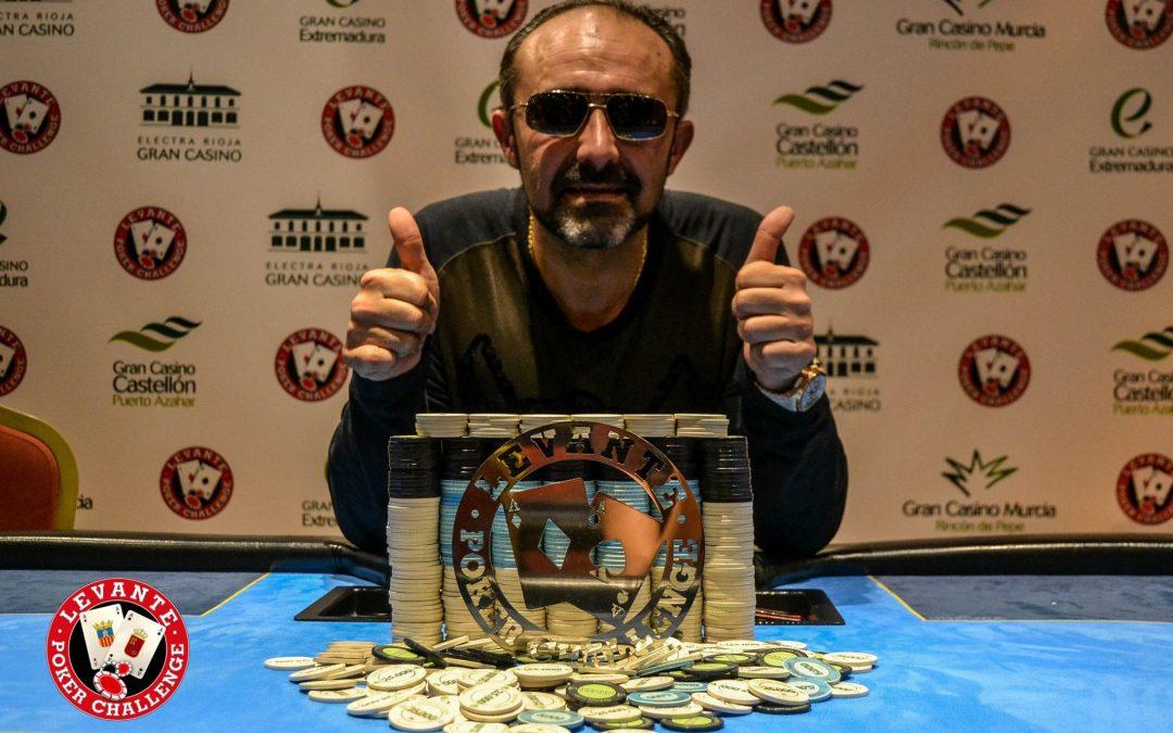 Hilario obtiene una merecida Victoria en el Levante Poker Challenge del Gran Casino Murcia