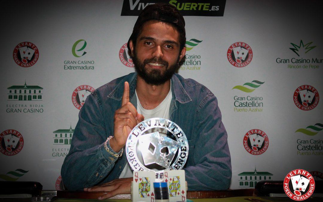 Santos se lleva la primera etapa especial del Levante Poker Challenge en el Gran Casino Extremadura este pasado fin de semana