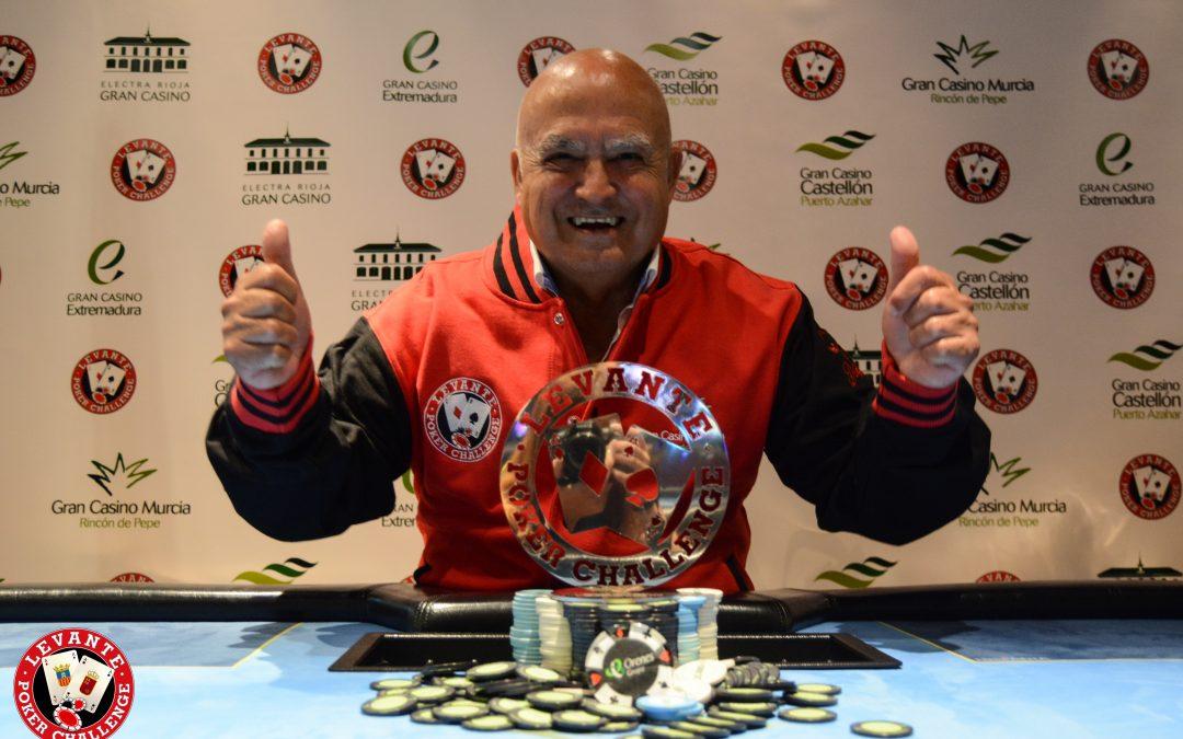 """El Levante Poker de Gran Casino Murcia en junio se lo lleva """"El Chupa"""""""