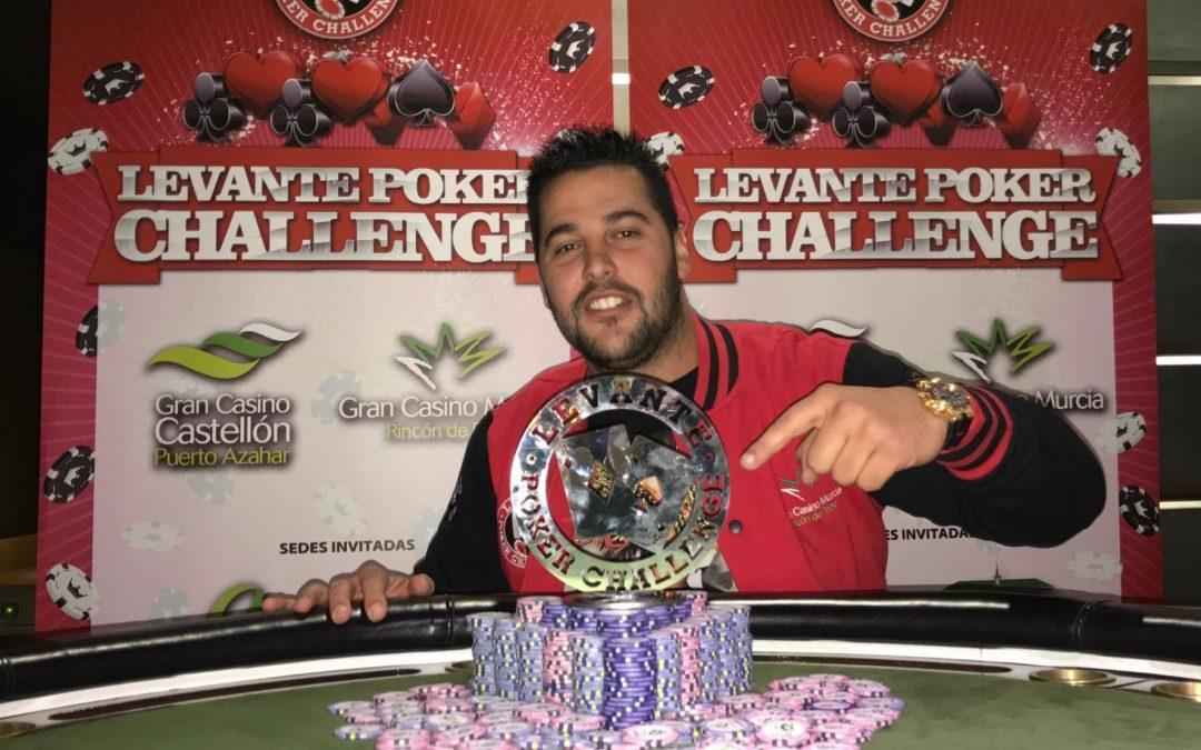 Finaliza la segunda etapa del Levante Poker Challenge en el Gran Casino Extremadura