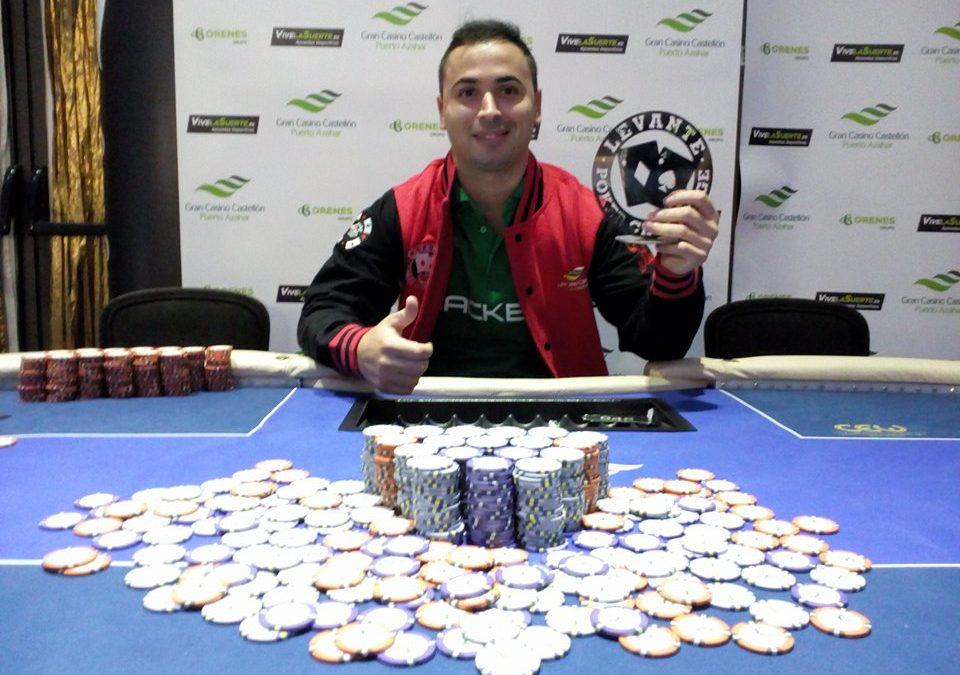 El título de ganador es para Alin en la cuarta etapa del Levante Poker Challenge del Gran Casino Castellón
