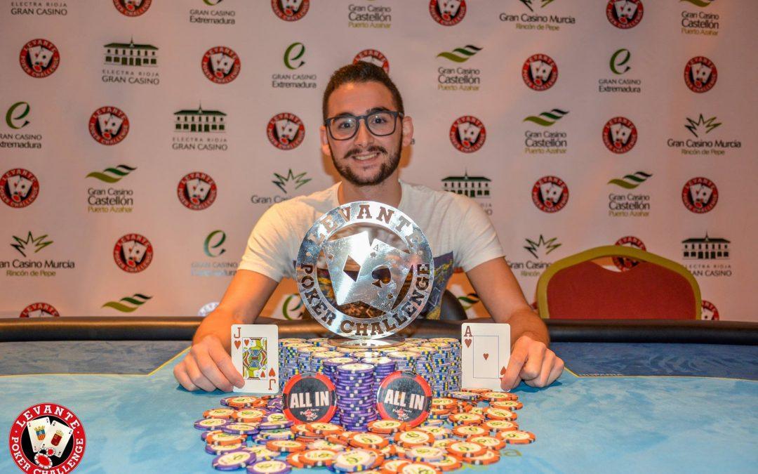 Marito se lleva el Levante Poker Challenge del Gran Casino Murcia