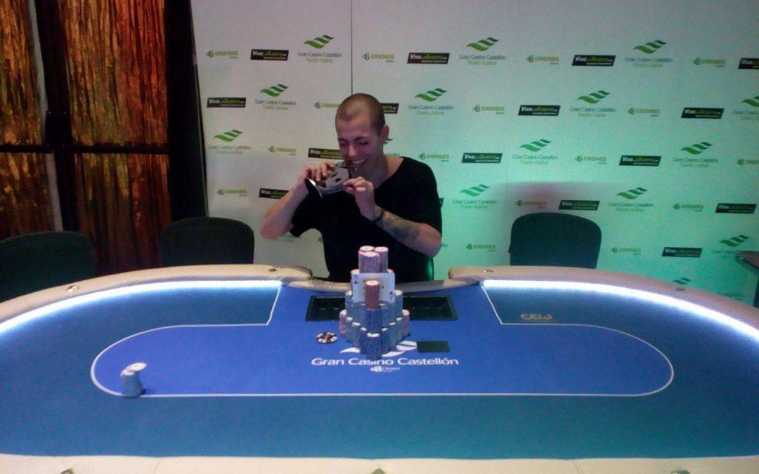 Manjón se alza con el último título de ganador del Levante Poker Challenge en el Gran Casino Castellón