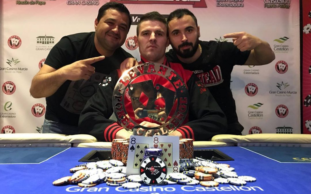 Marius Oprea se lleva la Gran Final del Levante Poker Challenge 2017 en el Gran Casino Castellón