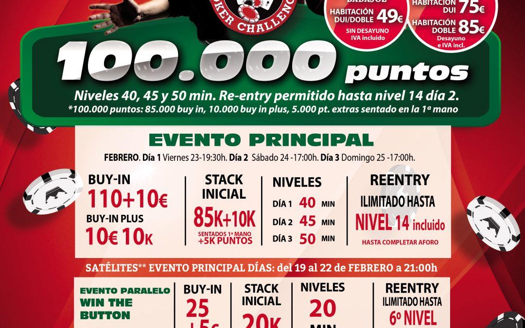 El Gran Casino Extremadura acoge la segunda parada del año del Levante Poker Challenge en febrero