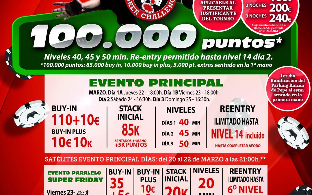 El Gran Casino Castellón recibe en Semana Santa la primera etapa del Levante Poker Challenge 2018
