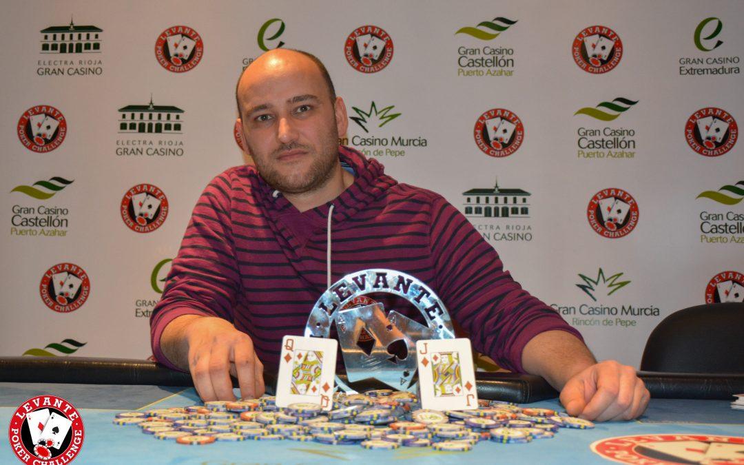 Valiente se alza con el primer trofeo del Levante Poker Challenge del Gran Casino Murcia