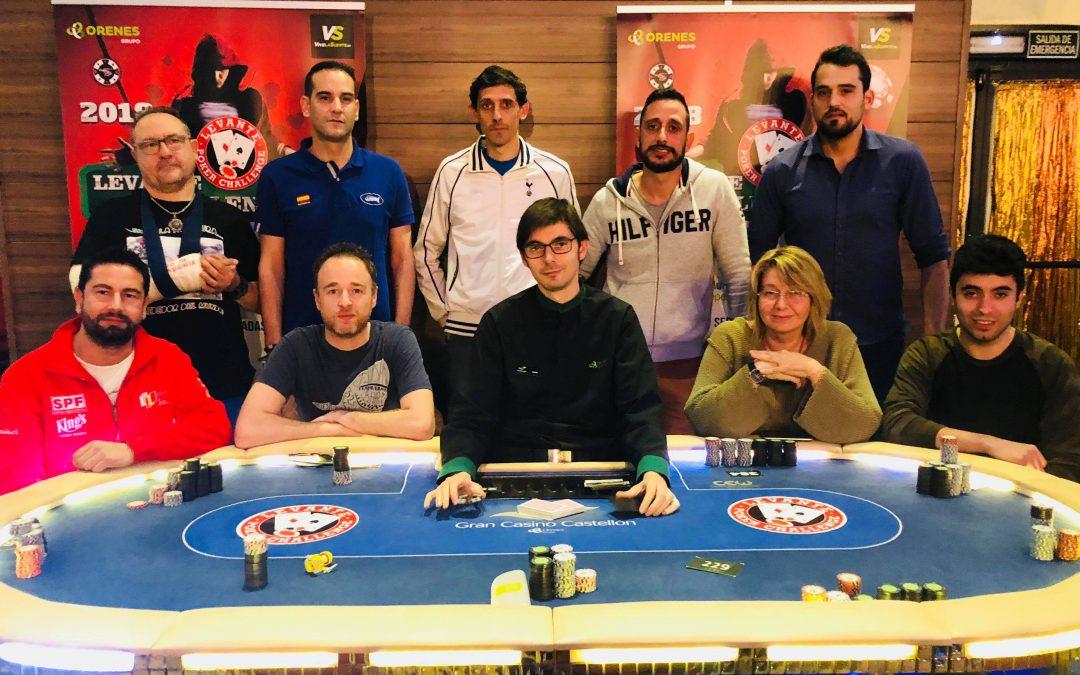 Un pacto a dos acaba con el Levante Poker Challenge de Gran Casino Castellón más multitudinario hasta la fecha