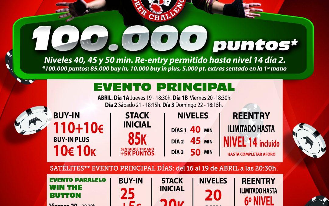 El primer Levante Poker Challenge de Electra Rioja Gran Casino se juega este jueves