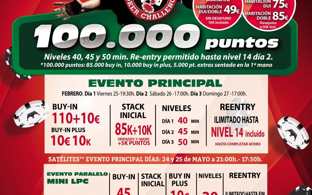El Gran Casino Extremadura toma el testigo de Electra Rioja Gran Casino Levante Poker Challenge en mayo