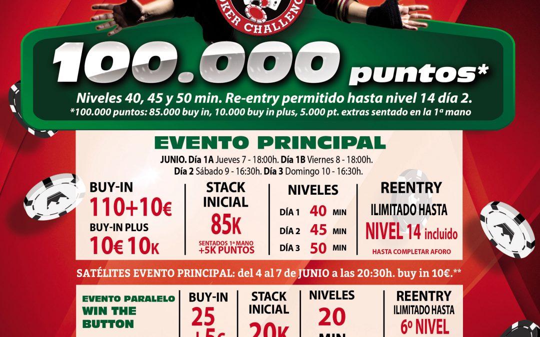 La segunda etapa en Gran Casino Castellón del Levante Poker Challenge tiene cita desde este jueves 7 de junio