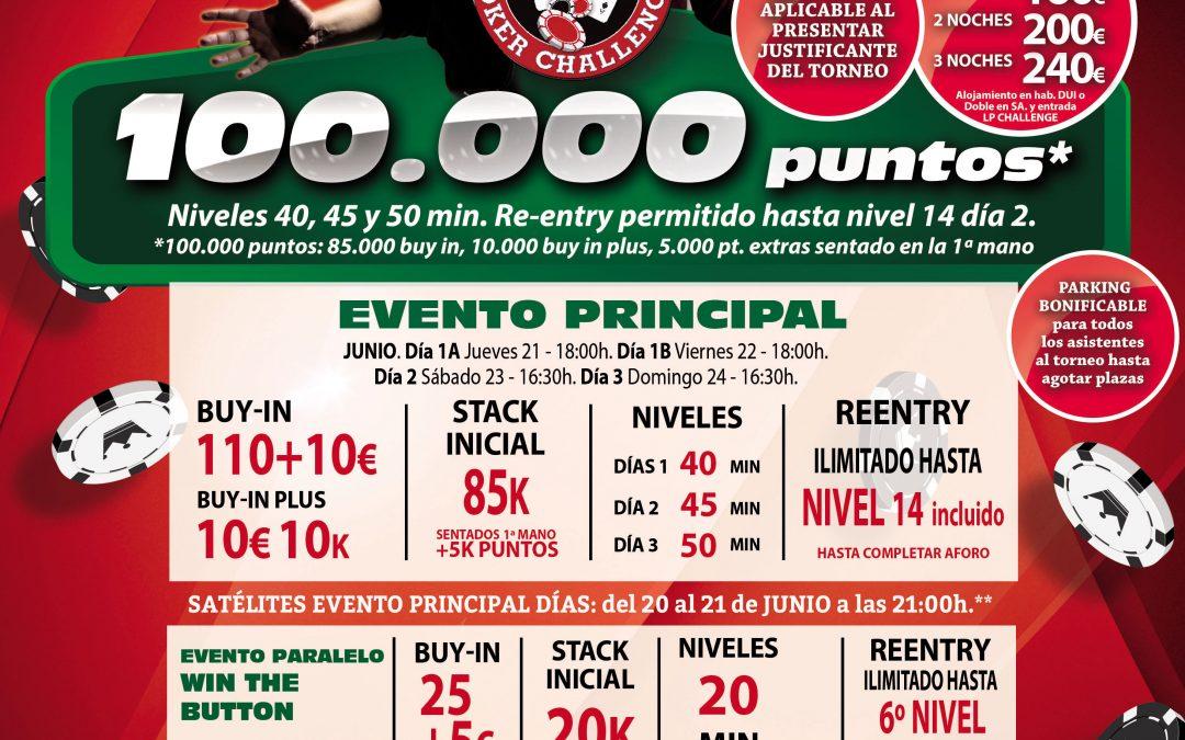 LA 3ª etapa del Levante Poker Challenge de Gran Casino Murcia será en el mes de junio