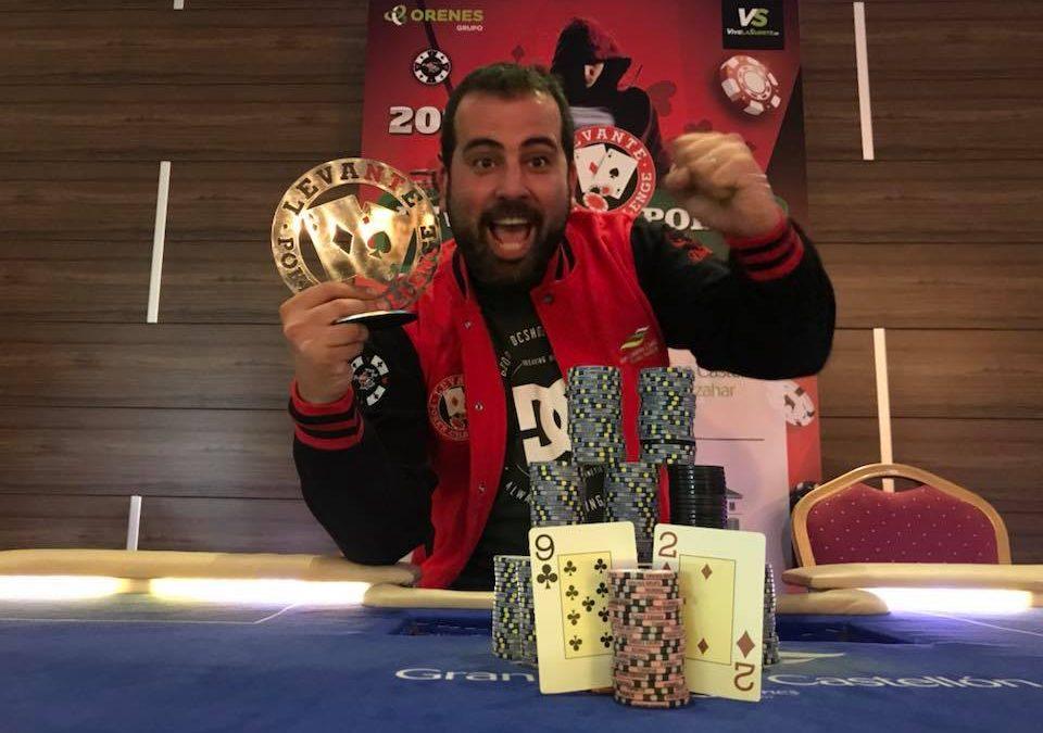 Un pacto a 3 en el Levante Poker Challenge del Gran Casino Castellón le da la victoria a Iñaki Solé