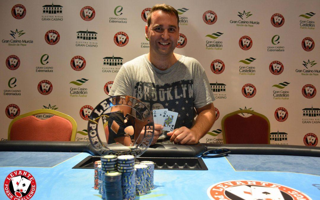 Candel se lleva la etapa del tercer Levante Poker Challenge en Gran Casino Murcia