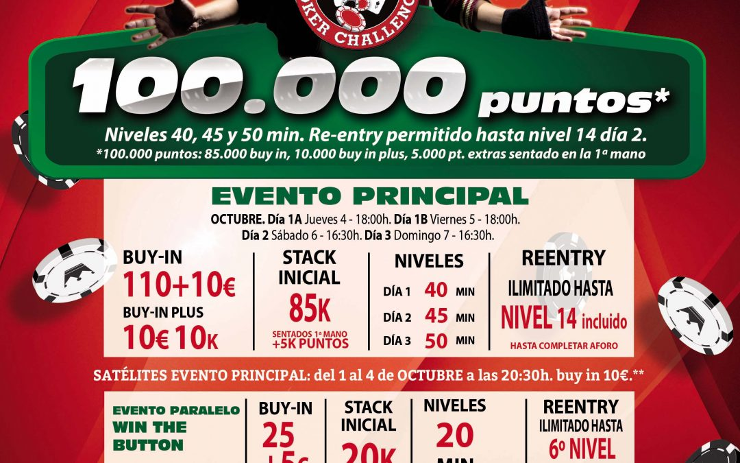 Gran Casino Castellón recogerá el testigo del Gran Casino Murcia en octubre
