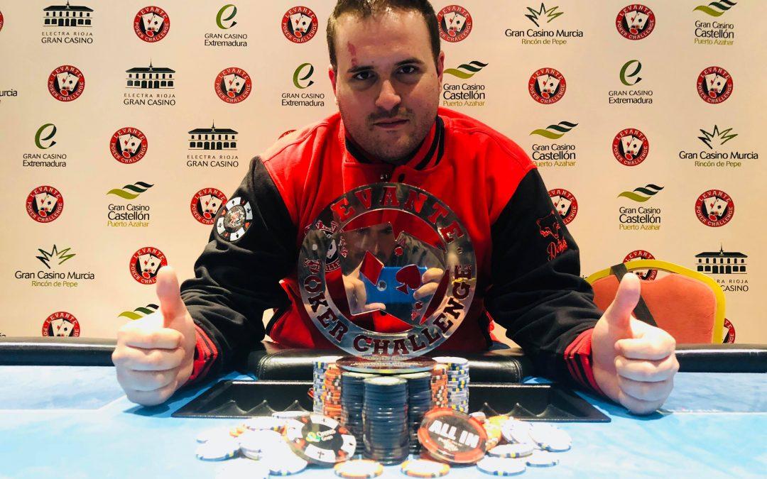 José Miguel se impuso en el Gran Casino Murcia pero quedan muchas citas para ser tú el vencedor del próximo Levante Poker Challenge antes de la Gran Final