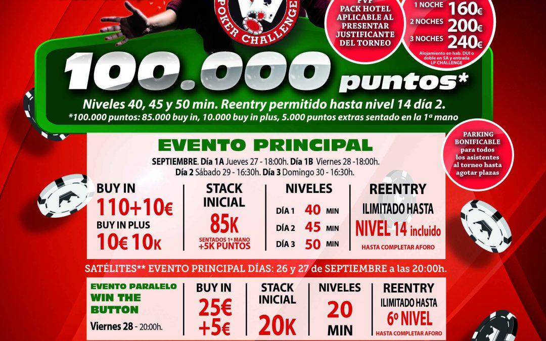 Gran Casino Murcia acogerá su 4ª cita con el Levante Poker Challenge esta última semana de septiembre