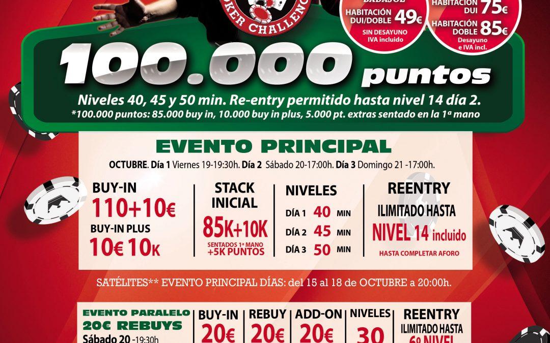 El Gran Casino Extremadura acoge la tercera cita del Levante Poker Challenge este próximo fin de semana