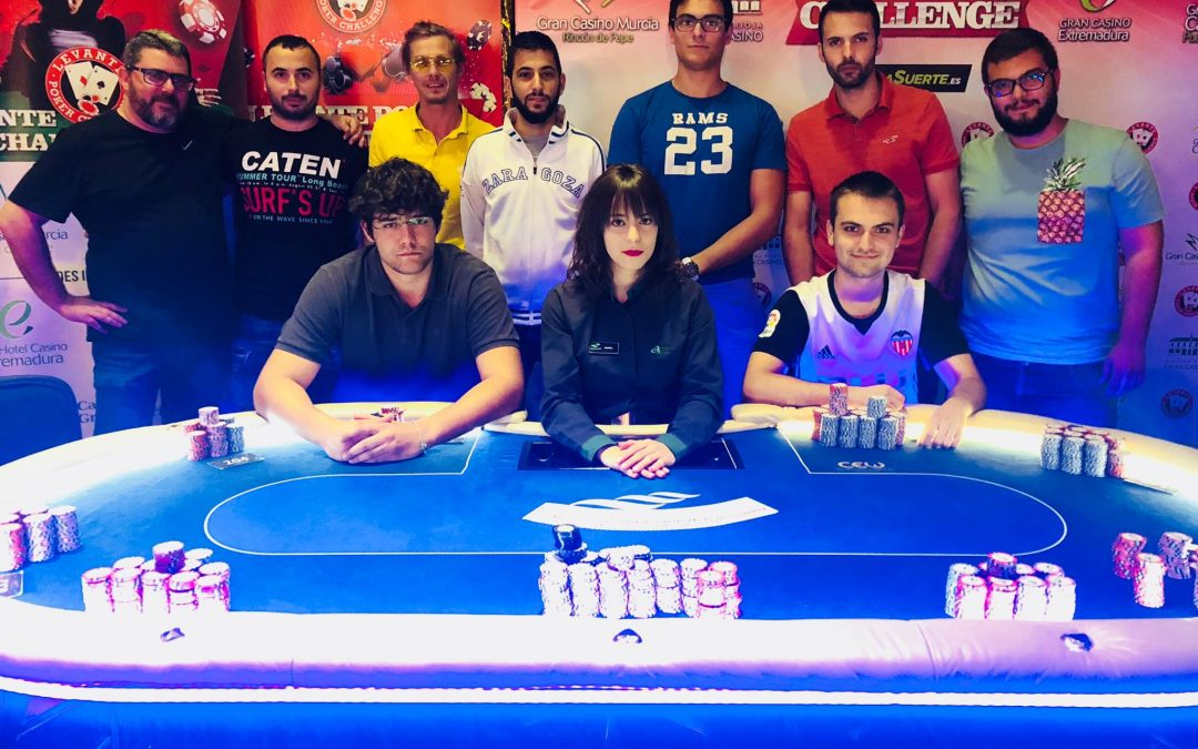 Un pacto a tres le da la victoria por puntos a Carlos Bou en el Levante Poker del Gran Casino Castellón