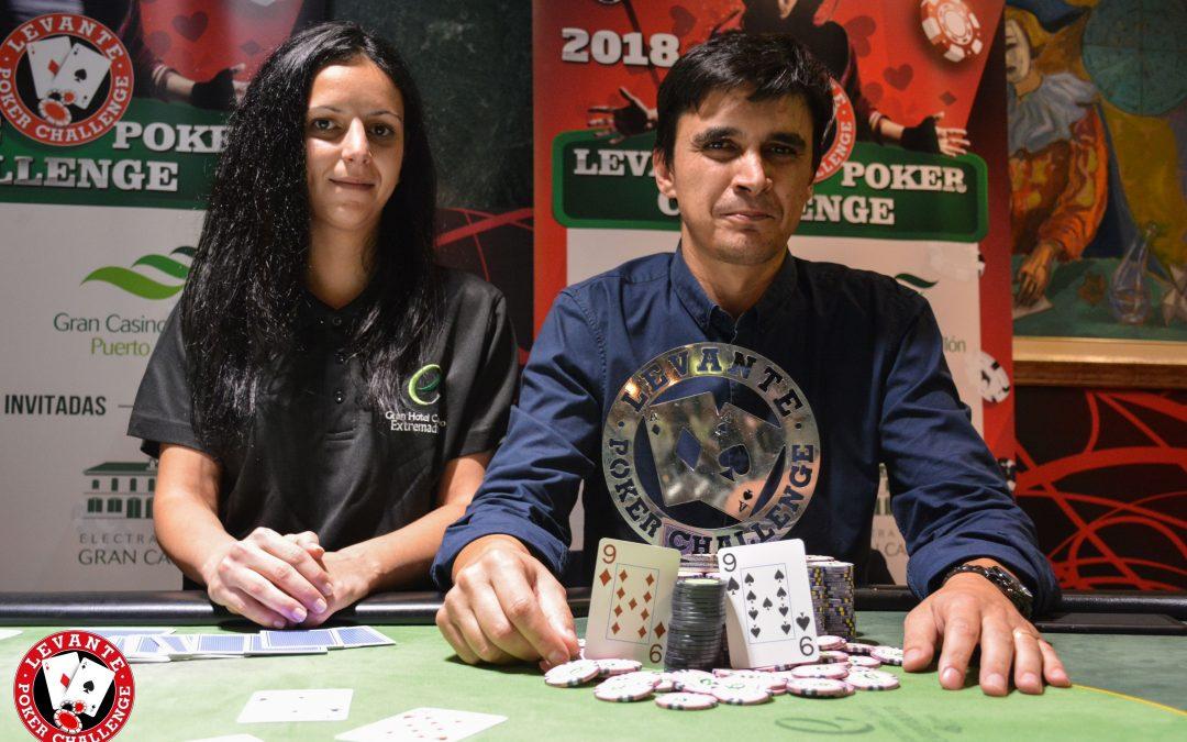 Rui se proclama vencedor del Levante Poker Challenge en Gran Casino Extremadura