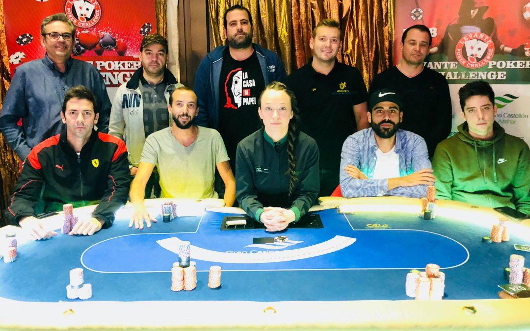 Solé repite en el último Levante Poker Challenge 2018 del Gran Casino Castellón