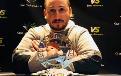 Yeste hizo podium en el último torneo del Levante Poker Challenge del Gran Casino Murcia antes de la Gran Final de diciembre