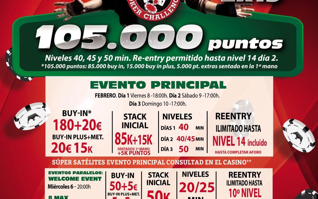 El primer Levante Poker Challenge del 2k19 da el pistoletazo de salida con el Especial Opening del Casino Gran Vía la próxima semana