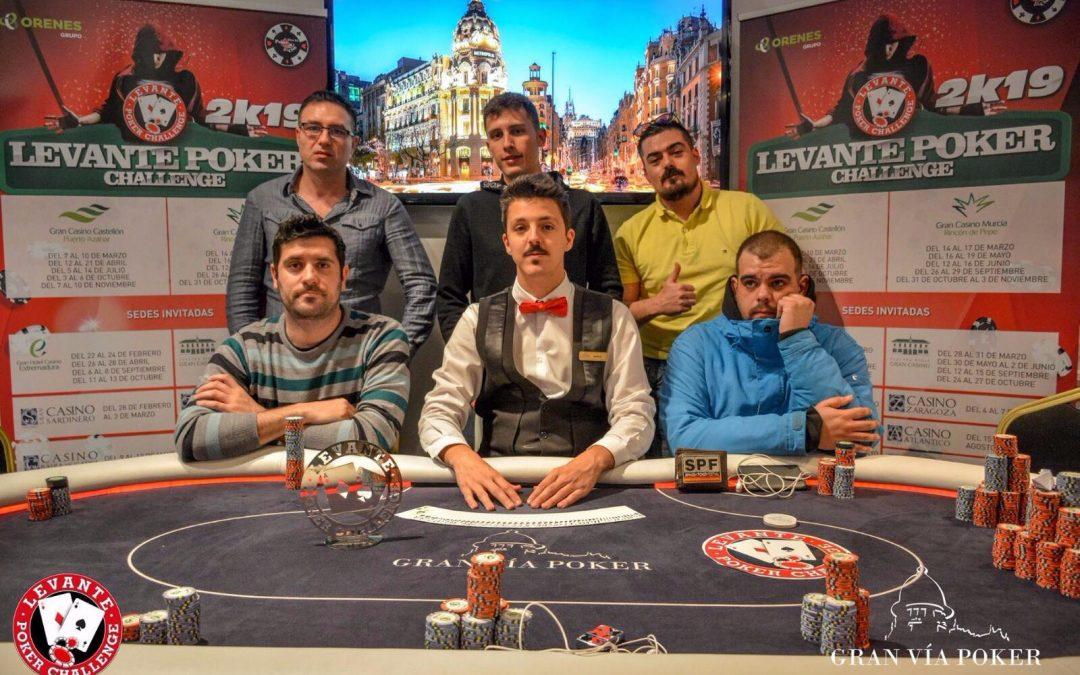 El trofeo del primer Levante Poker Challenge del 2k19 se va para Alicante con Selles en el Casino Gran Vía