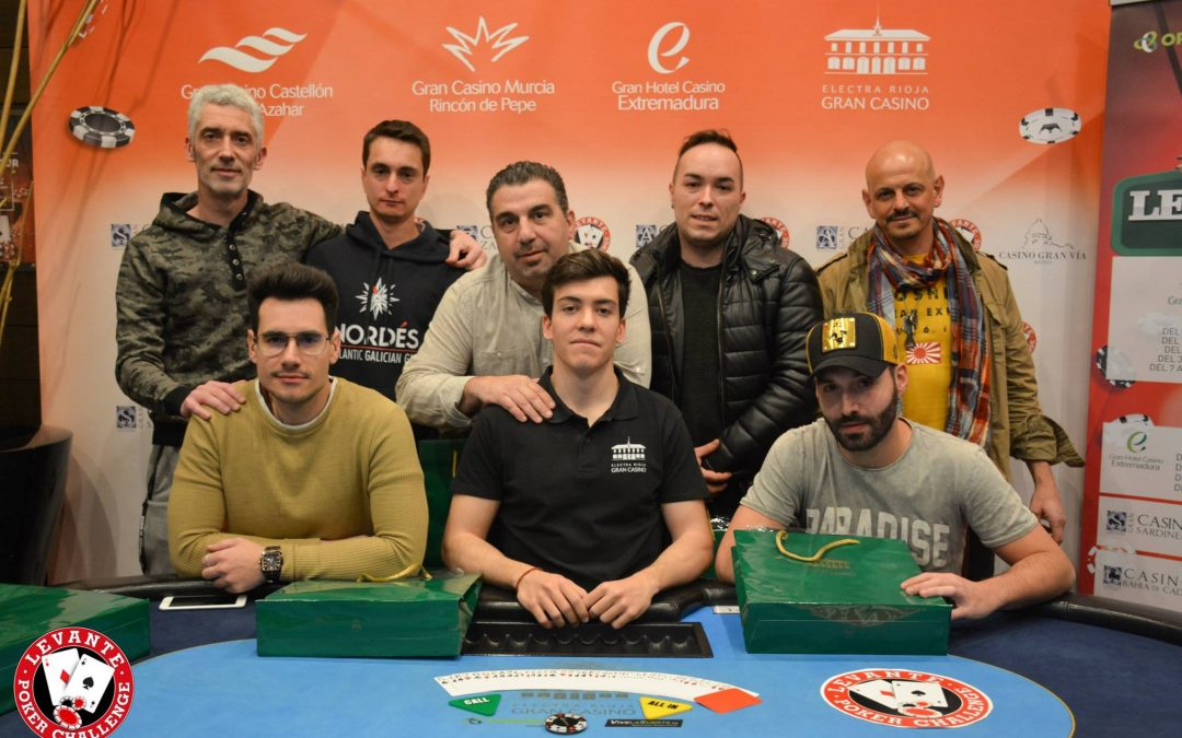 José Javier se proclama vencedor del primer Levante Poker celebrado en Electra Rioja Gran Casino