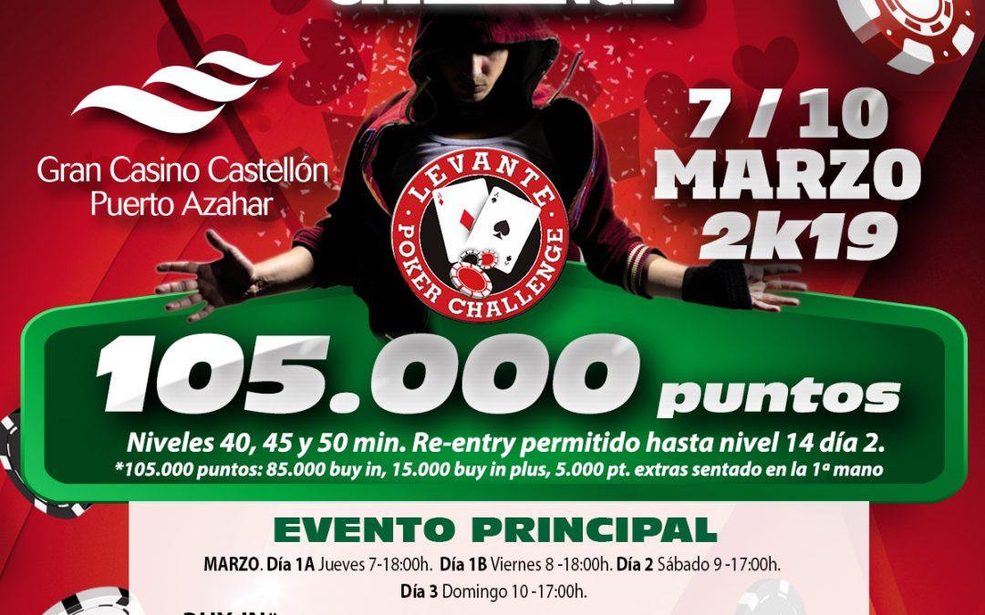 Gran Casino Castellón recoge el testigo del Levante Poker Challenge, del norte de España, este fin de semana rodeado de altas temperaturas