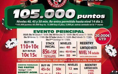El Gran Casino Castellón se prepara para el Levante Poker Challenge especial de julio