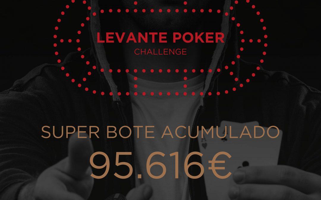 Más de 95.000€ a repartir en la Gran Final del Levante Poker Challenge 2k19 de enero en Orenes Gran Casino Castellón