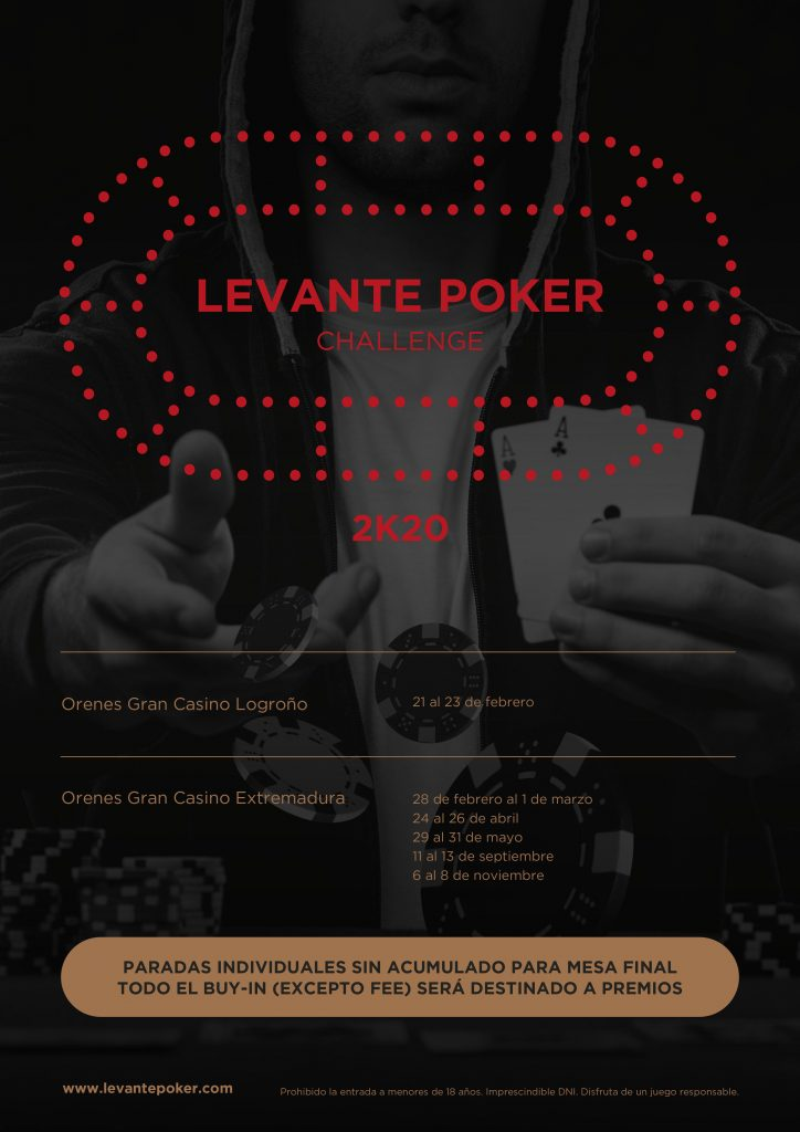 Levante Poker Calendario Extremadura